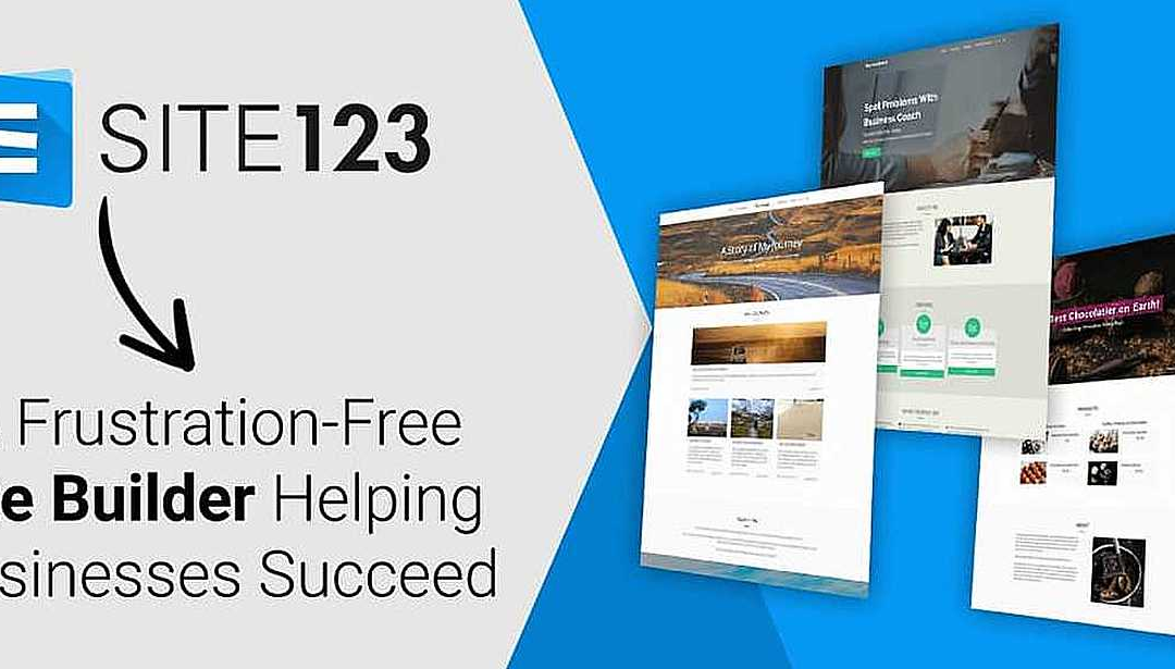 How To Build Your Company Website In 3 Easy Steps With SITE123 Website Builder
